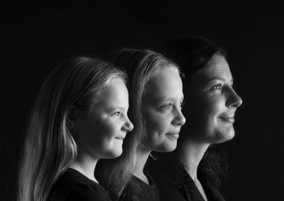 Family Faces zwart wit familie generatieshoot diana schouten fotografie hellevoetsluis