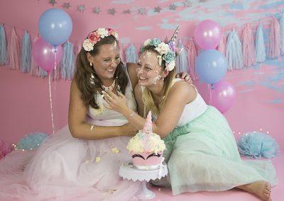 adult cakesmash unicorn vriendinnen bucket-list