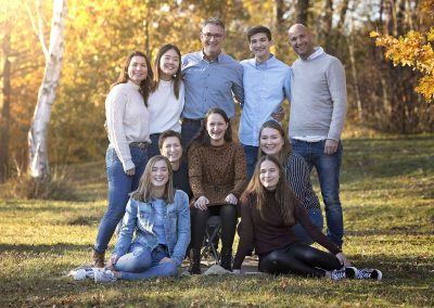 familie gezin fotoshoot herfst