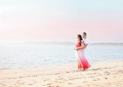 loveshoot beach rockanje liefde samen