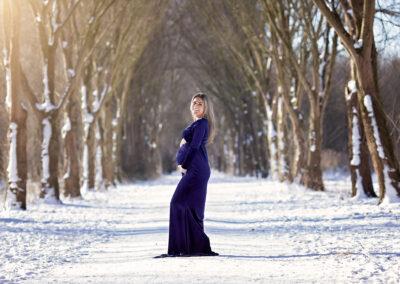Zwangerschapsshoot outdoor/studio