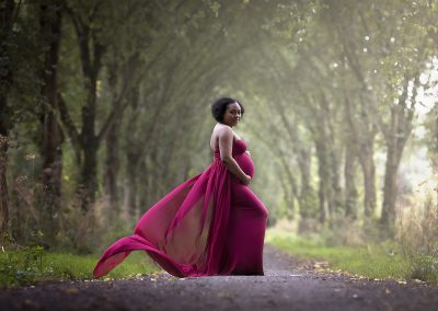 zwangerschapsfotoshoot outdoor